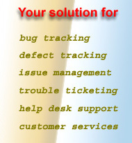 Oracle database based bug tracking